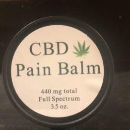 cbd pain balm 3.5 oz